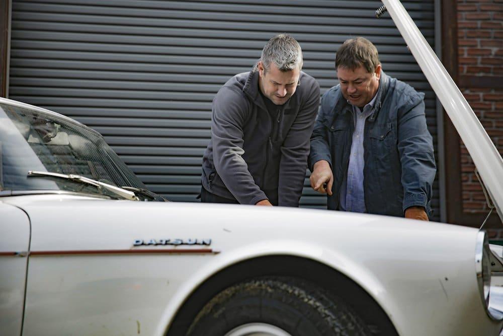 Mike Brewer Motoring - Wheeler Dealers Datsun