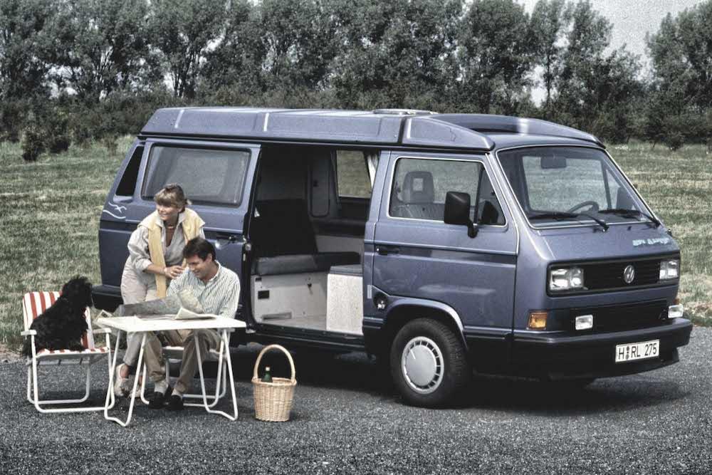 Mike Brewer Motoring - Volkswagen Transporter - Type 25 T3 Camper