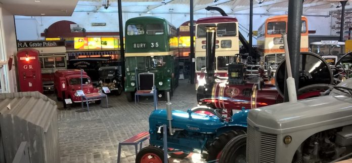 Mike Brewer Motoring - FBHVC supports Transport Museums
