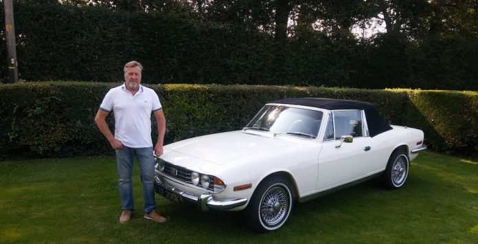 Mike Brewer Motoring - Mick Smith's Triumph Stag