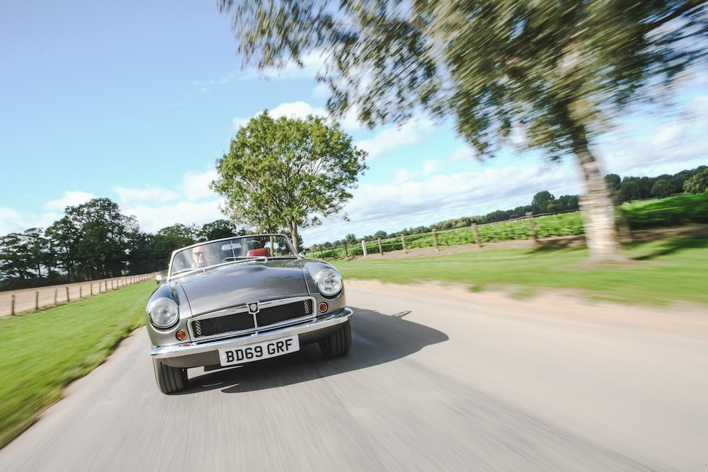 Mike Brewer Motoring - RBW Electric Classic Roadster