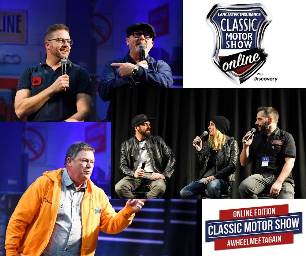 Mike Brewer Motoring - NEC Classic Motor Show Online