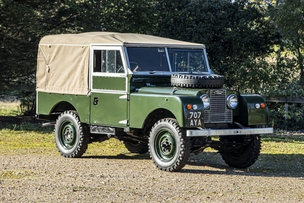 Mike Brewer Motoring - Classic Car Auctions 1958 Land Rover