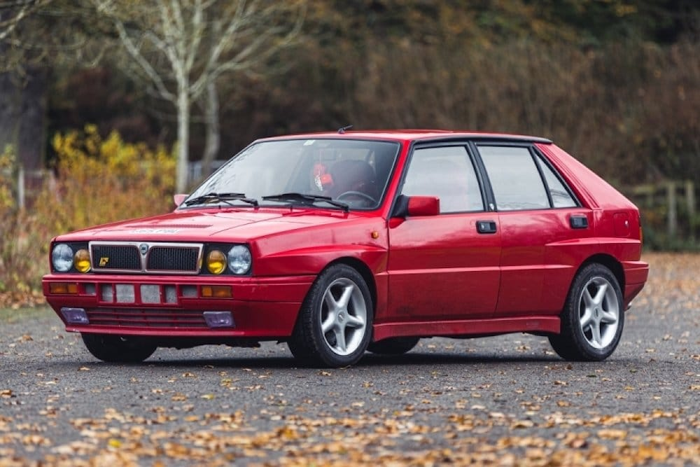 Mike Brewer Motoring - Classic Car Auctions 1989 Lancia Integrale