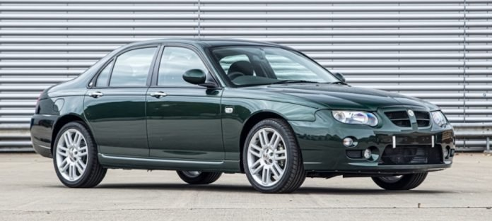 Mike Brewer Motoring - Classic Car Auctions 2004 MG ZT