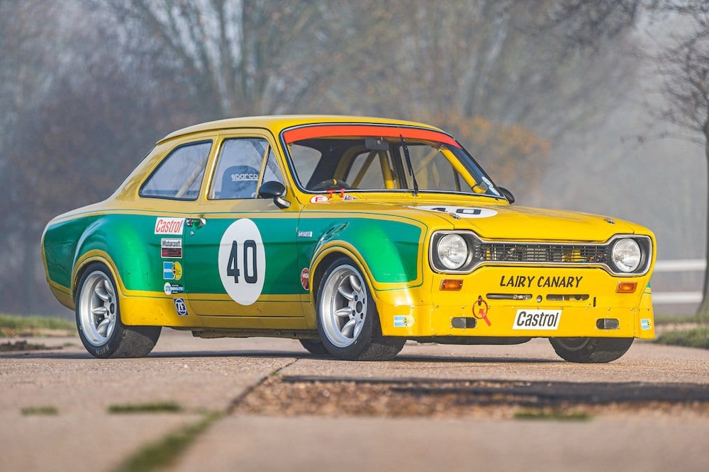 Mike Brewer Motoring - Classic Car Auctions 1971 Ford Escort RS1600 'Lairy Canary'