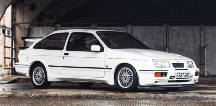 Mike Brewer Motoring - Classic Car Auctions 1987 Ford Sierra RS500