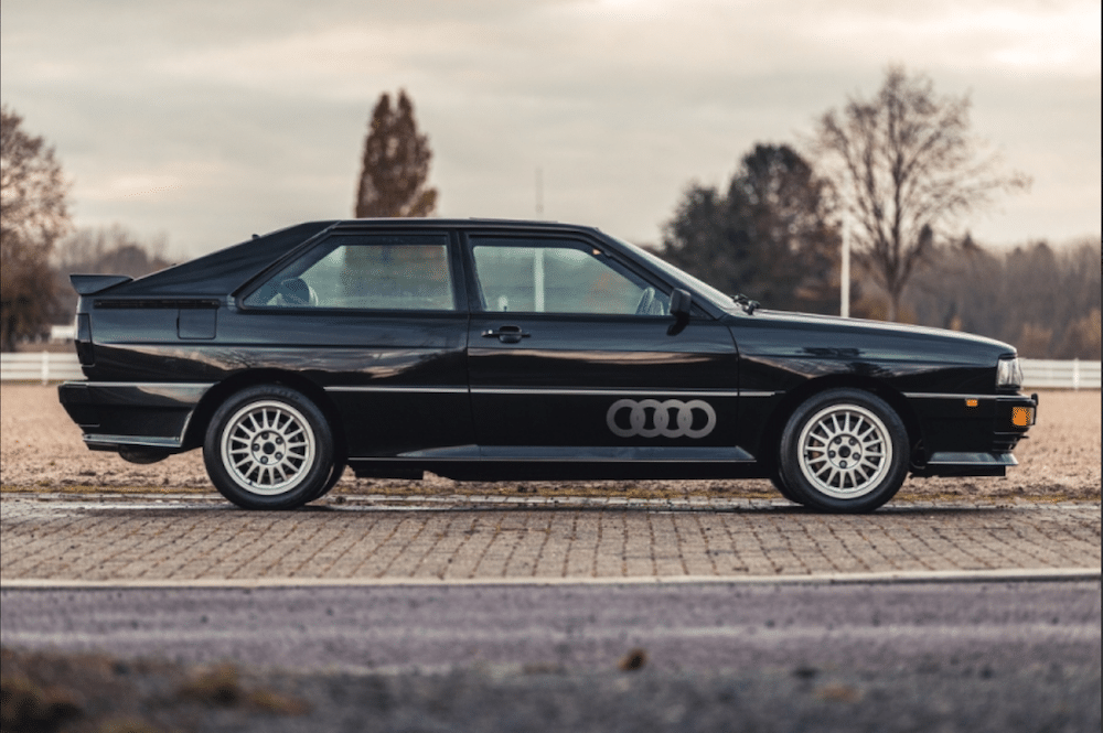 Mike Brewer Motoring - Classic Car Auctions 1989 Audi Quattro MB