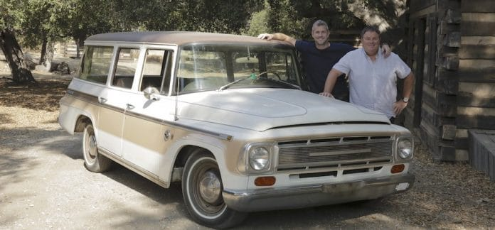 Mike Brewer Motoring - Wheeler Dealers Travelall