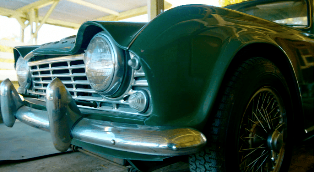 Mike Brewer Motoring - Wheeler Dealers Triumph TR4