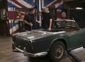 Mike Brewer Motoring - Wheeler Dealers Triumph TR4