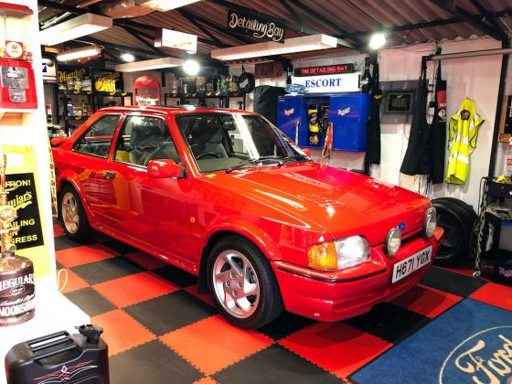 Mike Brewer Motoring - Mark Stewart's Ford Escort RS Turbo