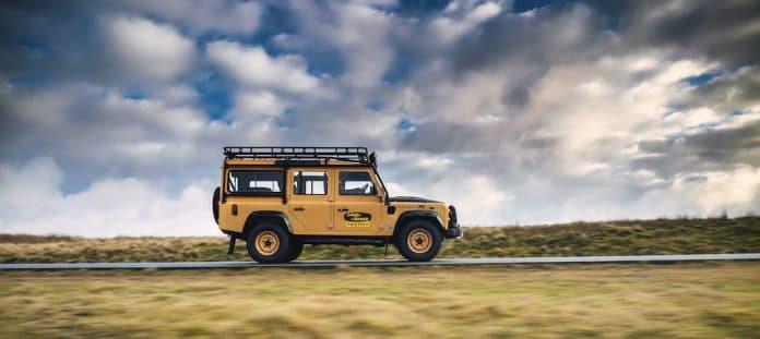 Mike Brewer Motoring - Land Rover Classic Defender Works V8