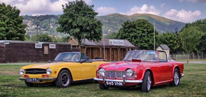 Mike Brewer Motoring - Triumph and MG Weekend