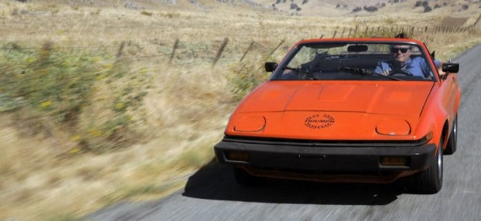 Mike Brewer Motoring - Wheeler Dealers Triumph TR7