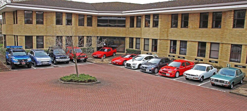 Mike Brewer Motoring - Mitsubishi Motors heritage fleet