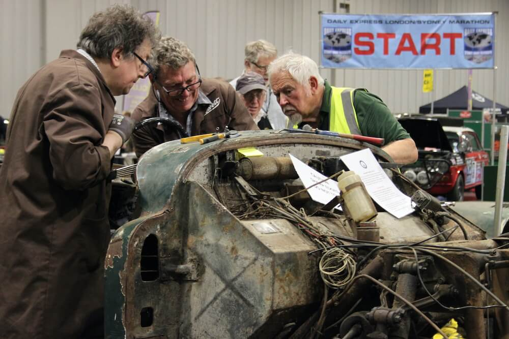 Mike Brewer Motoring - NEC Restoration Show