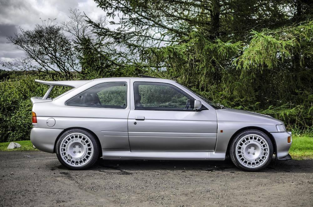 Mike Brewer Motoring - Mark McClelland's Ford Cosworth