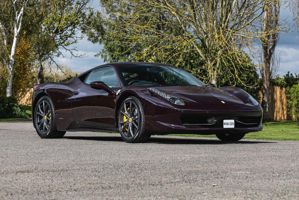 Mike Brewer Motoring - Celebrity owned Ferraris