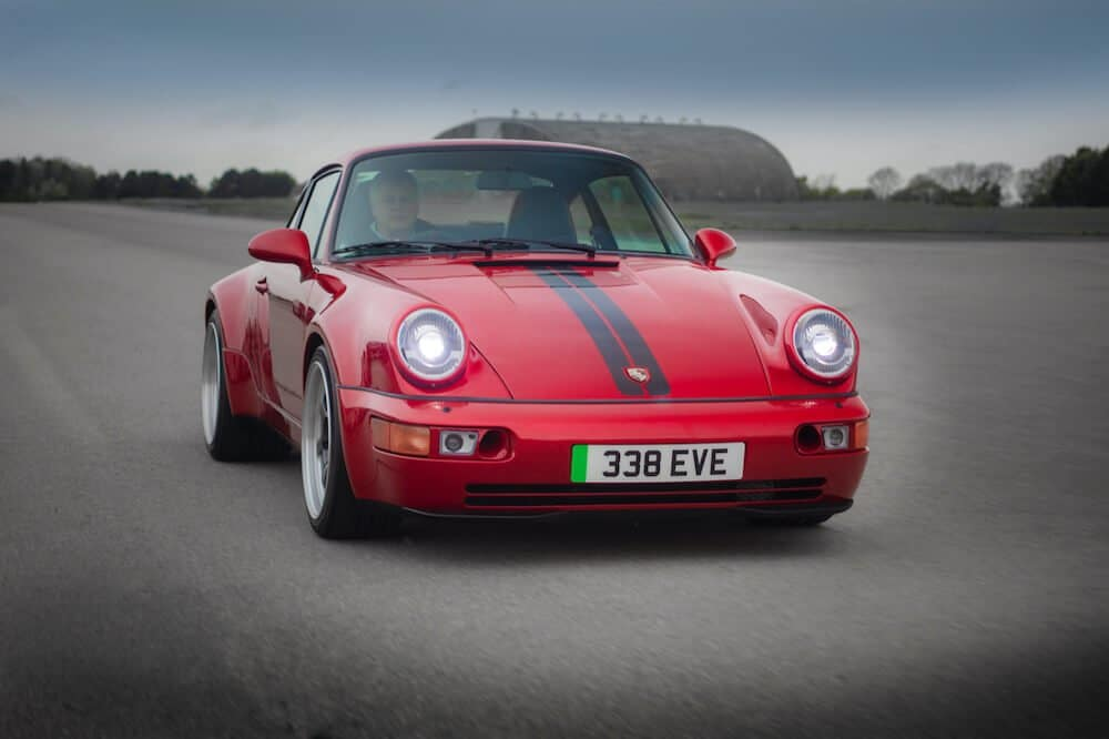 Mike Brewer Motoring - electric Porsche 911