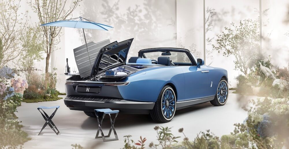 Mike Brewer Motoring - Rolls-Royce Boat Tail