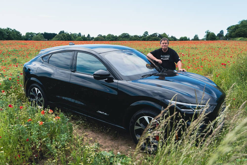 Mike Brewer tests the Ford Mustang Mach-E