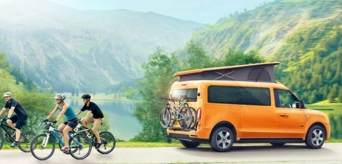 World's first electric campervan