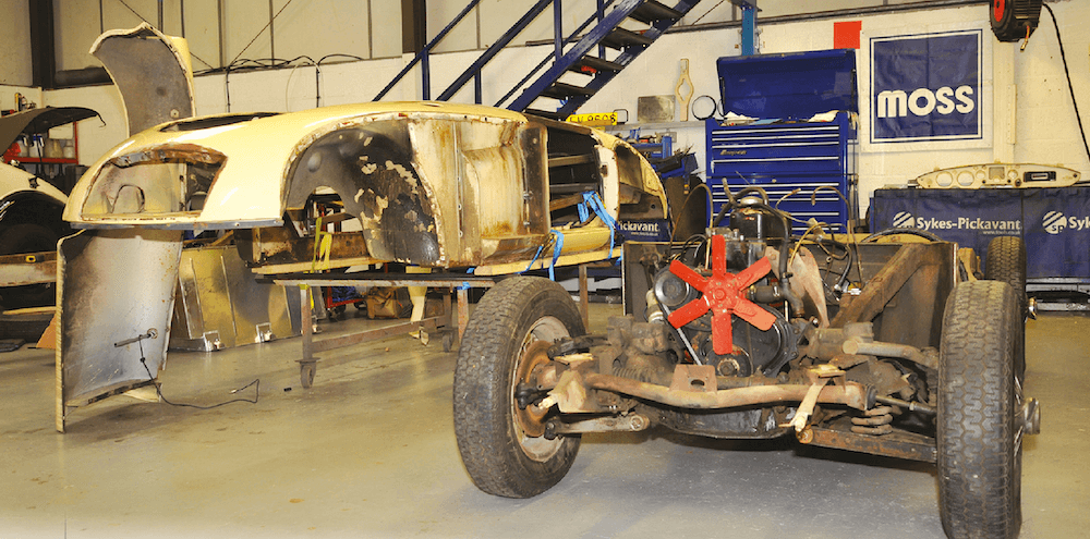 Mike Brewer MGA Restoration