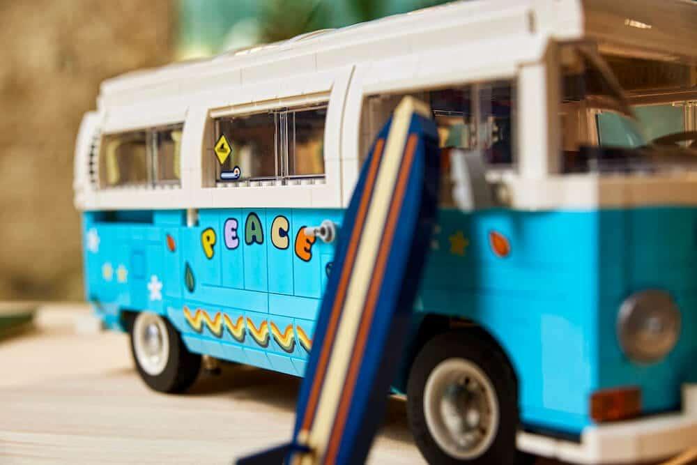 LEGO welcomes the summer of fun with the new LEGO Volkswagen T2 Camper Van Set.