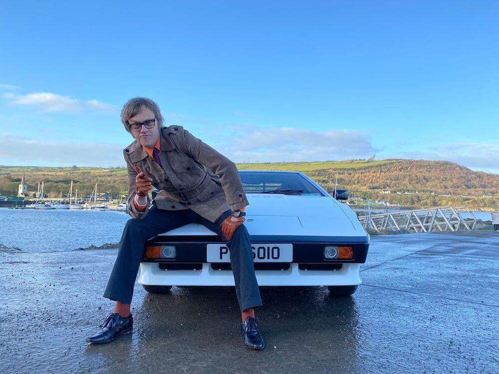 Alex Riley and the Lotus Esprit