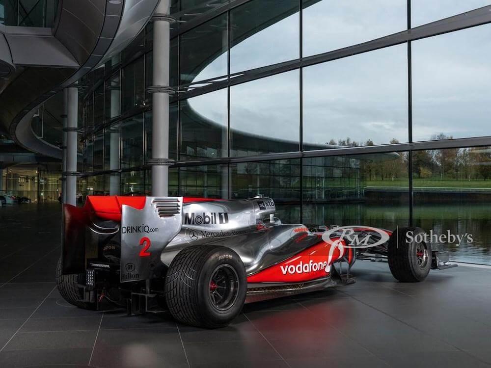 Lewis Hamilton Grand Prix car for sale