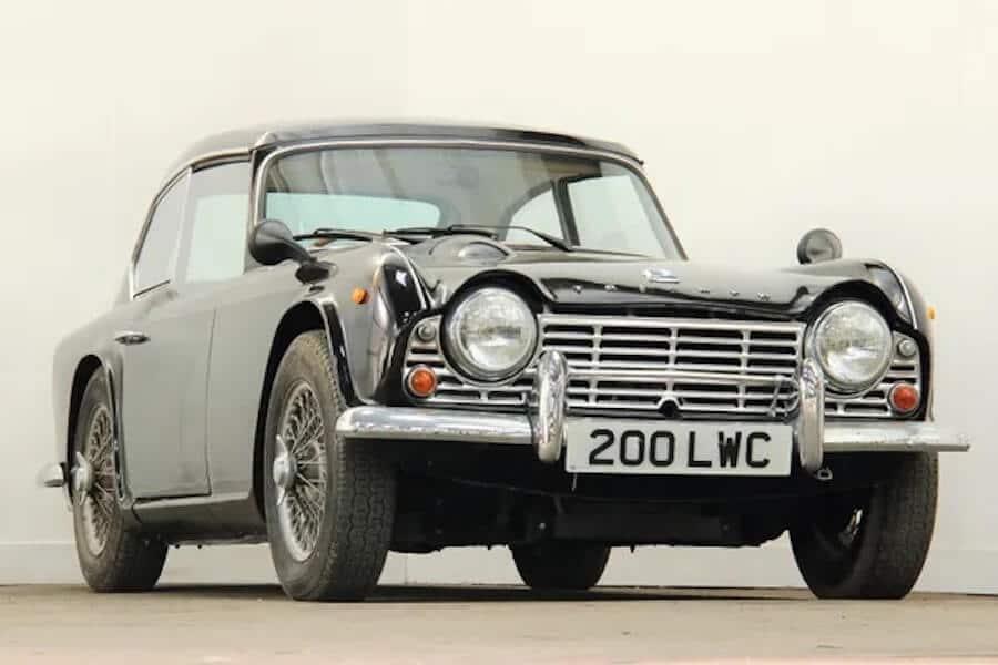 Brightwells Classic car